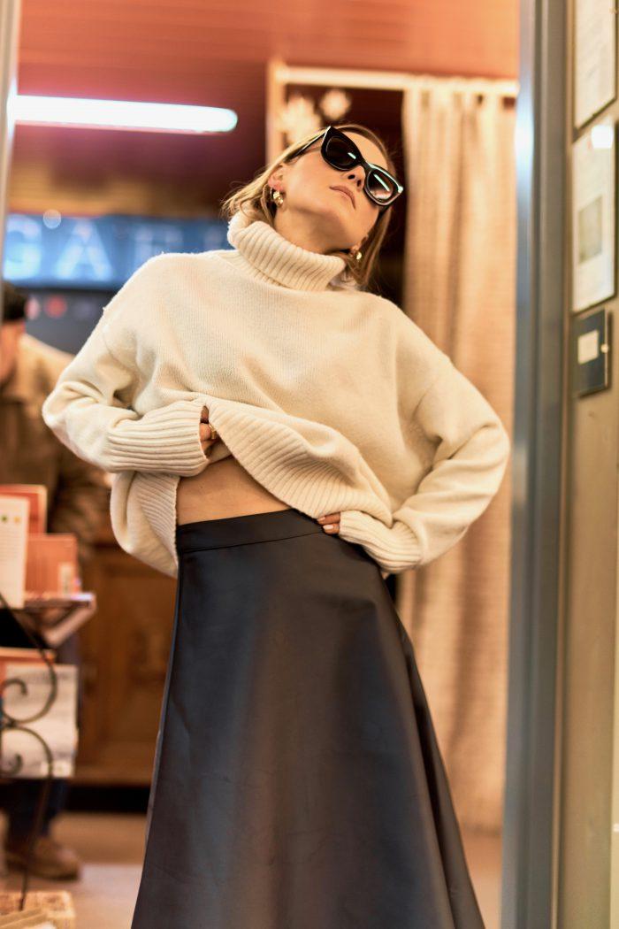 Midi Skirt fashion blogger look
