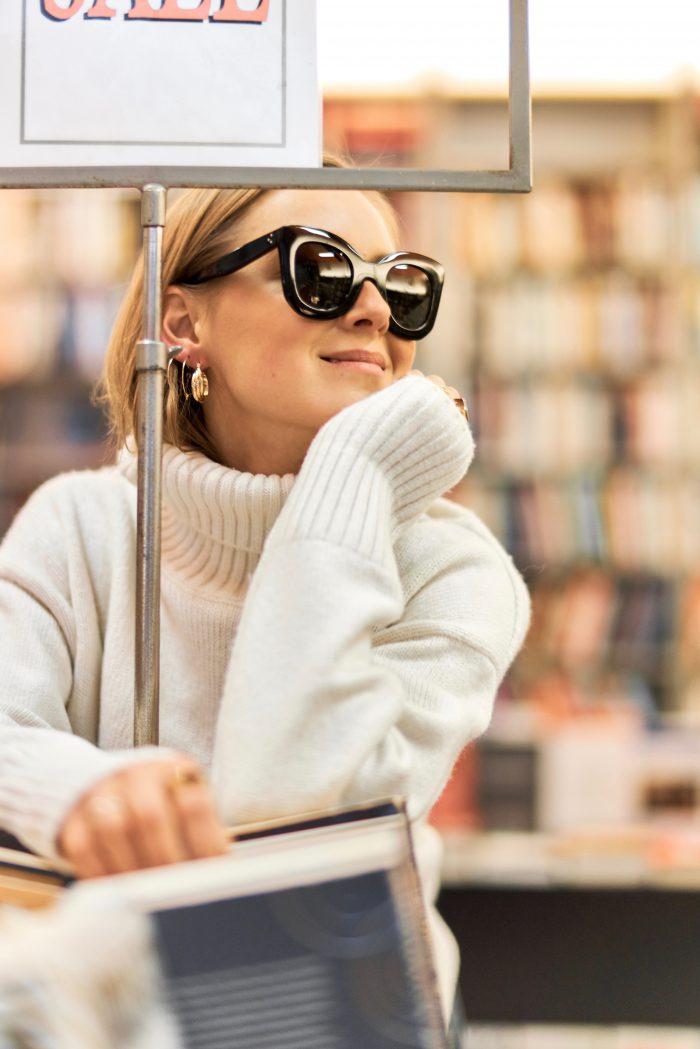 cozy knitwear beige