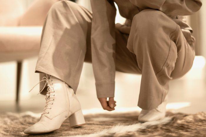 lace boots ladies