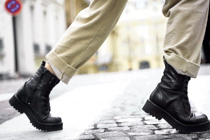 Boots black women