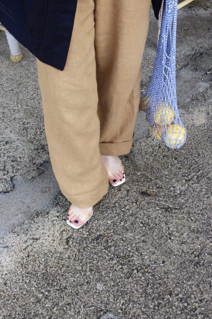 Linen Pants wide