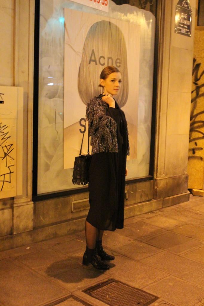 Glitter Blazer in Paris