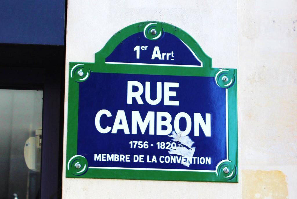Chanel Rue Cambon