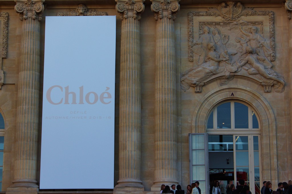 Chloe Fashion Week Paris