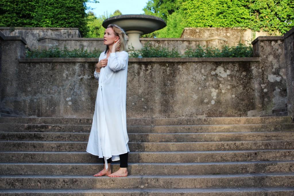 Trend: weiße Bluse