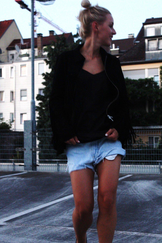 Fransenjacke Fashion