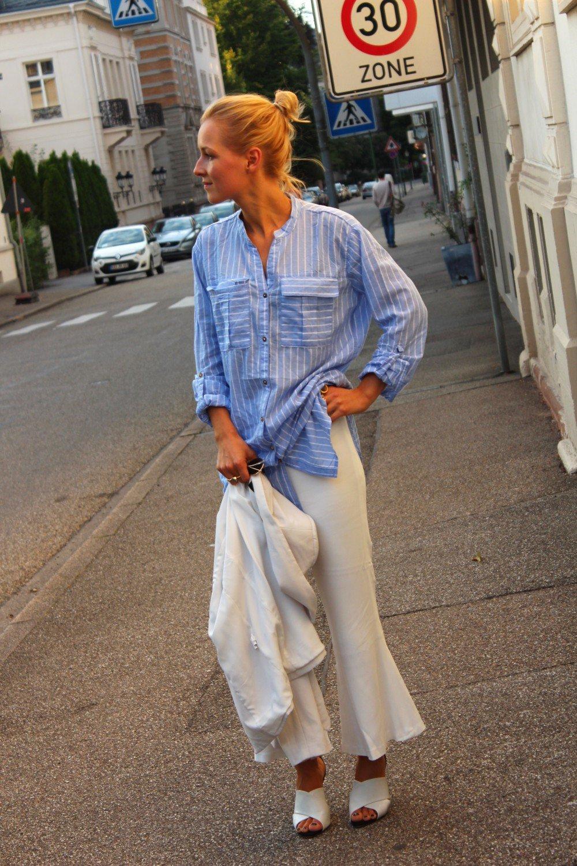 Cropped Flare Trousers Zara Studio