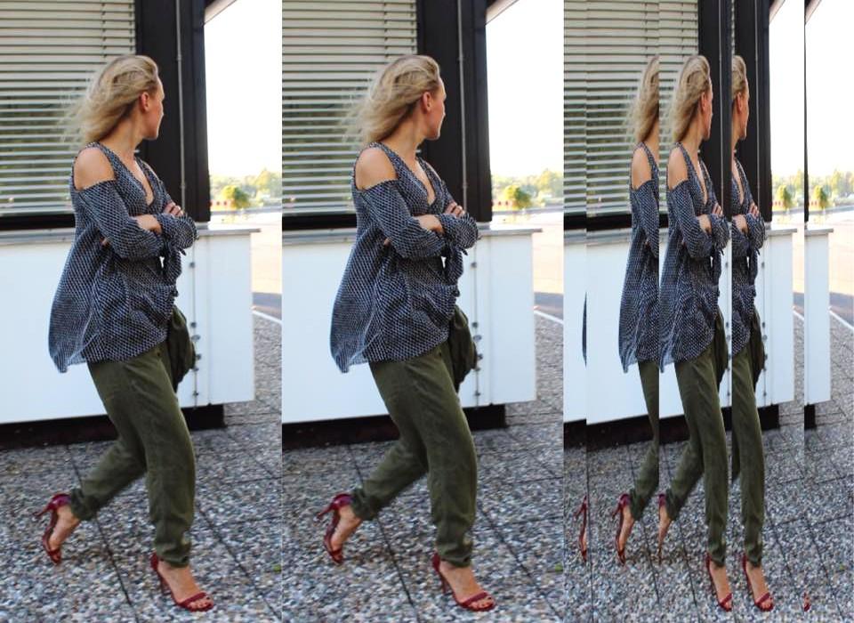 Bluse H&M Trend