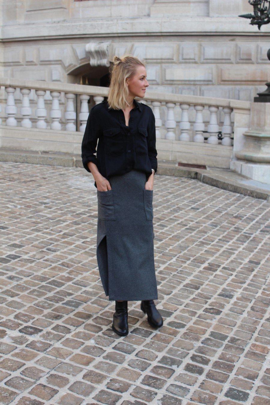 Fashion Skirt GREY