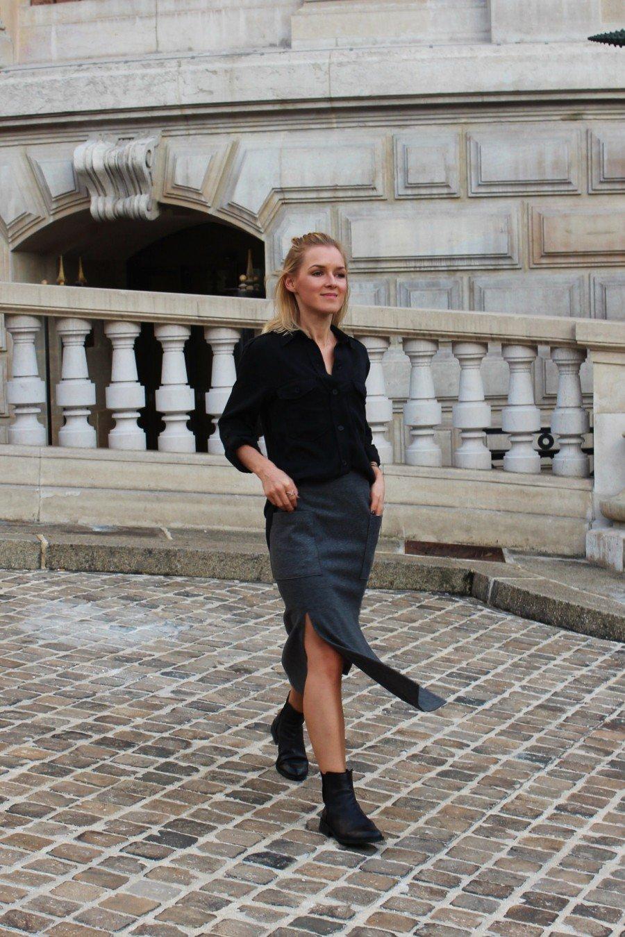 Fashionblogger in Zara-Look