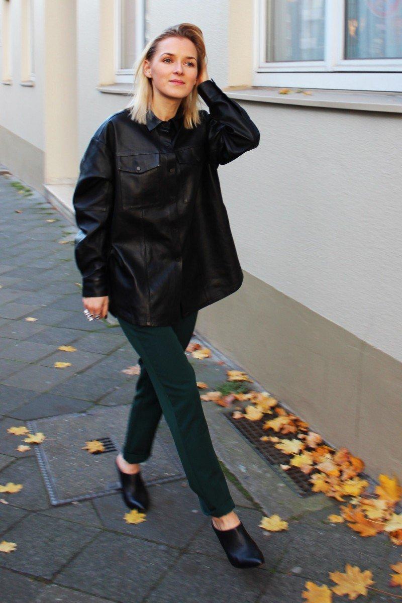 Lederhemd style