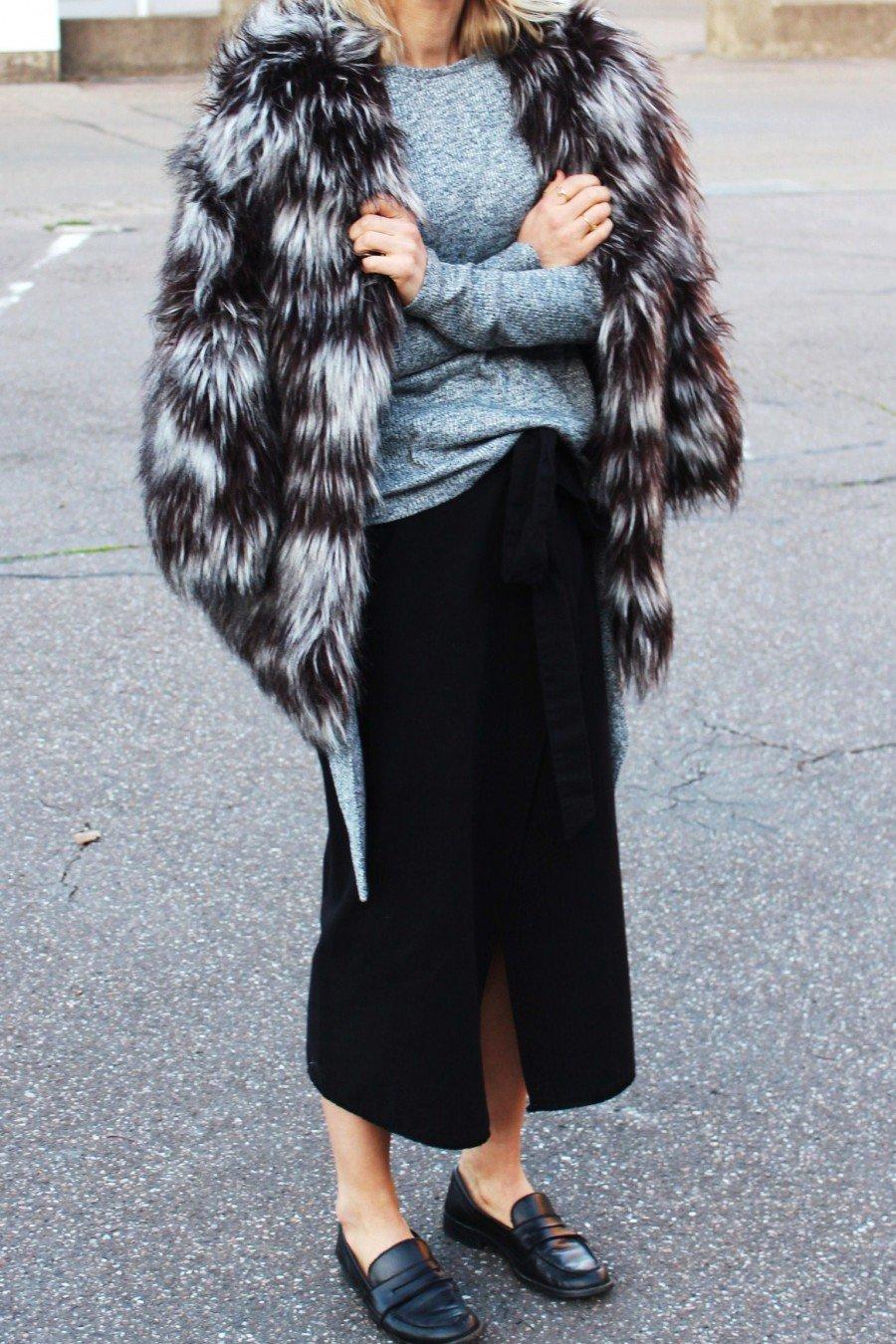Fake-Fur Coat