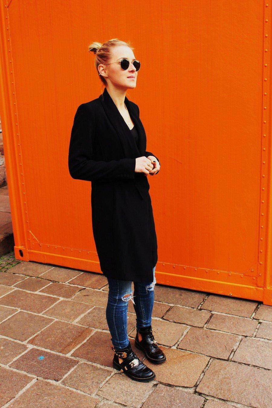 Smoking Kleid Zara