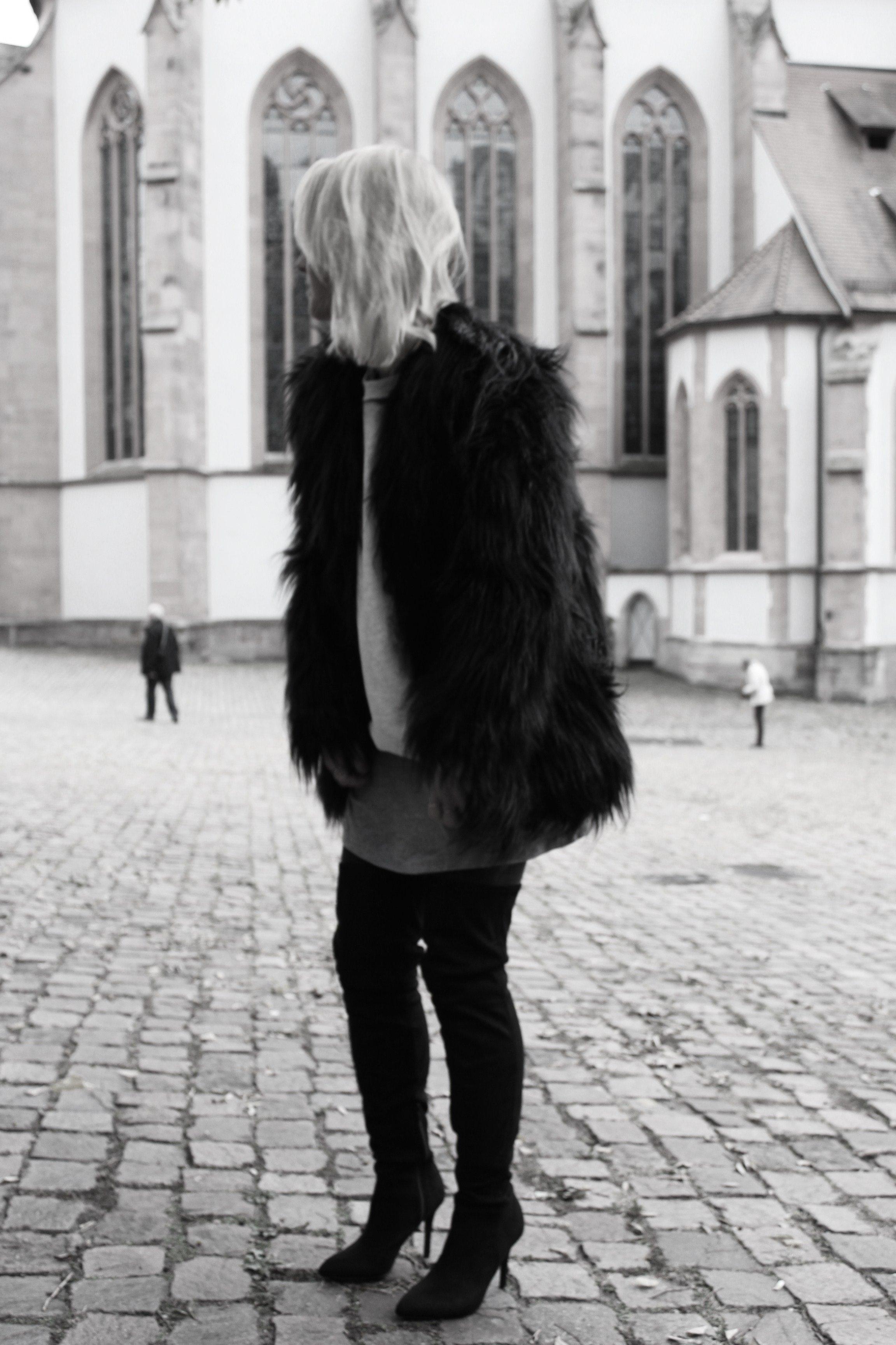 Overknee Stiefel H&M