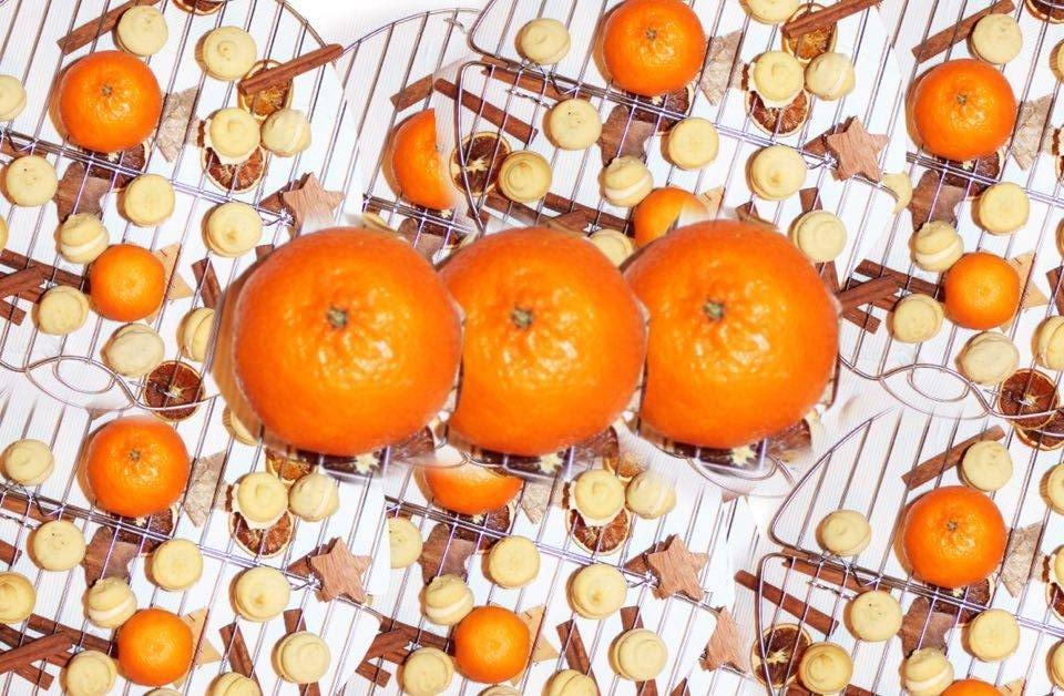 Vanille - Orangen Sandgebäck