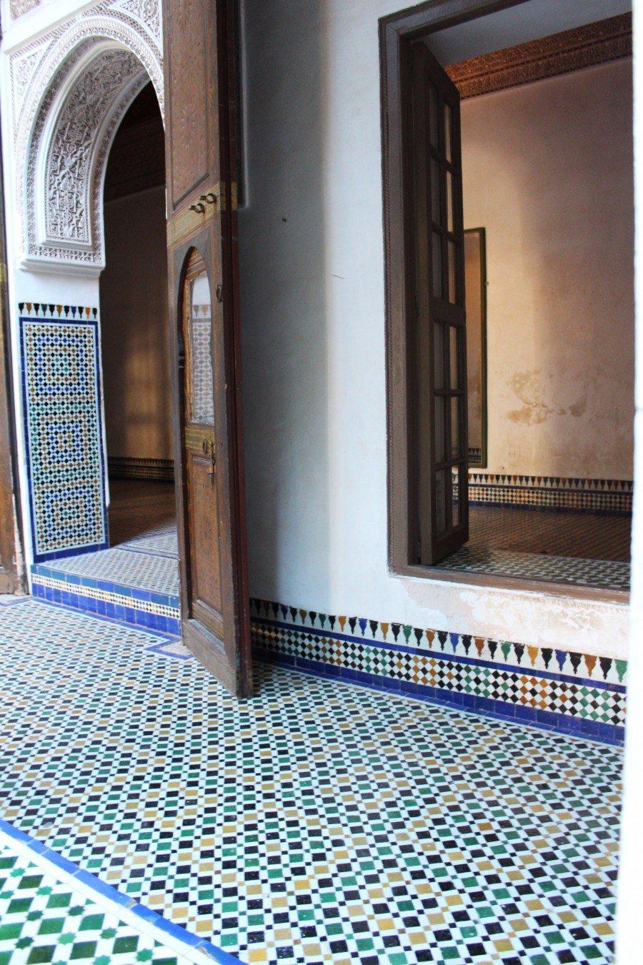Palais de la Bahia Marocco