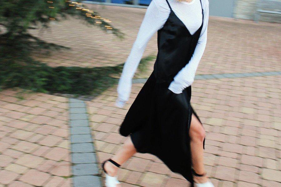 Kleid Mango schwarz
