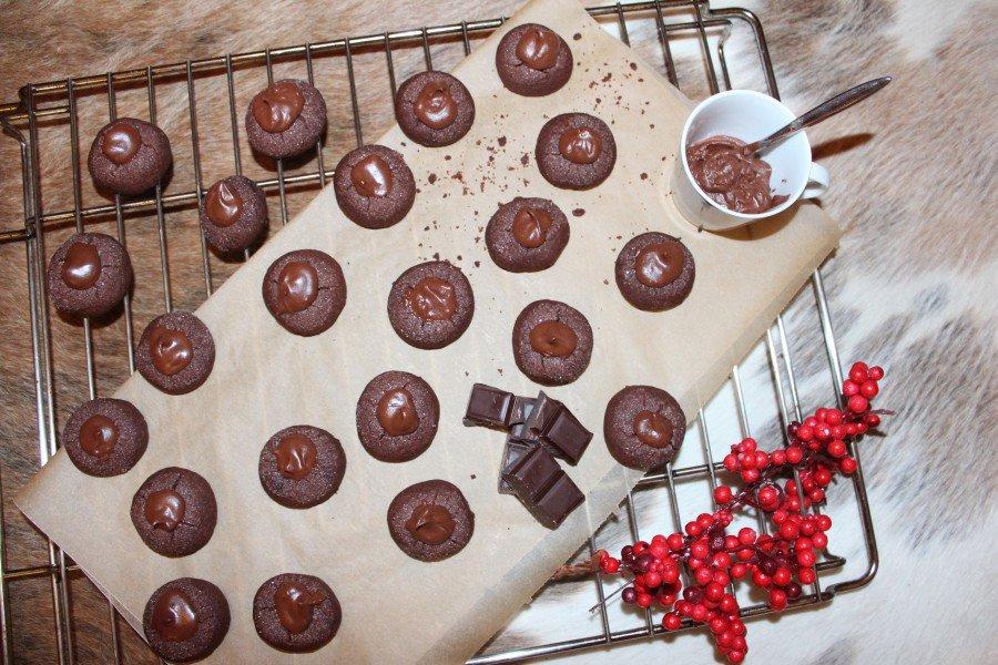 Weihnachtsplätzchen Schokolade