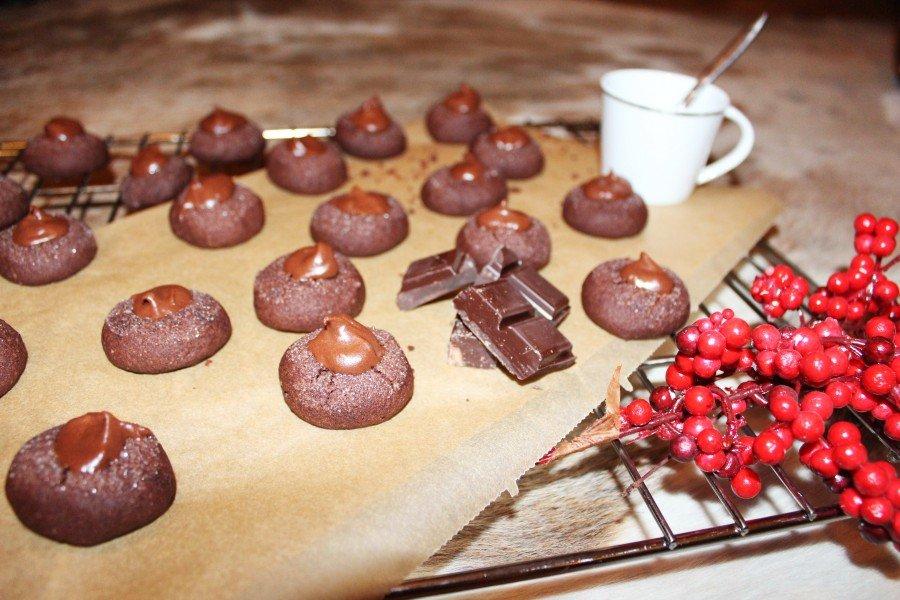 Schokoladen Plätzchen