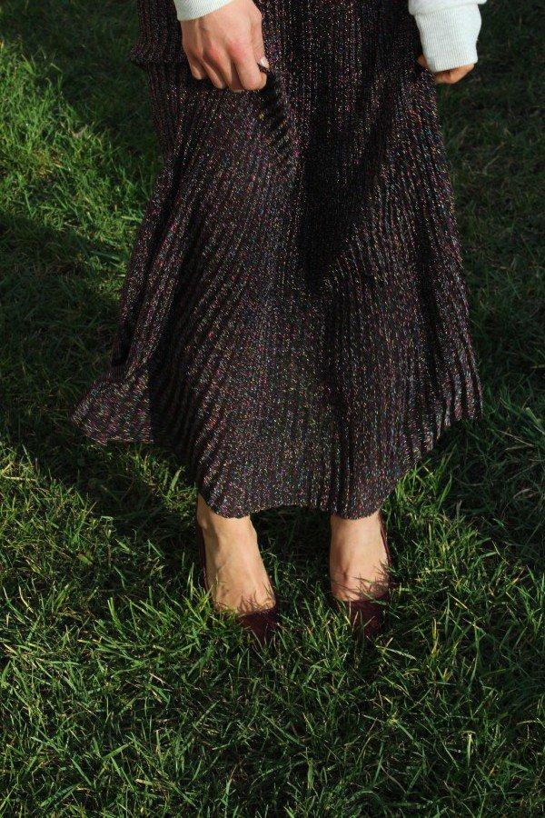 H&M glitter Skirt