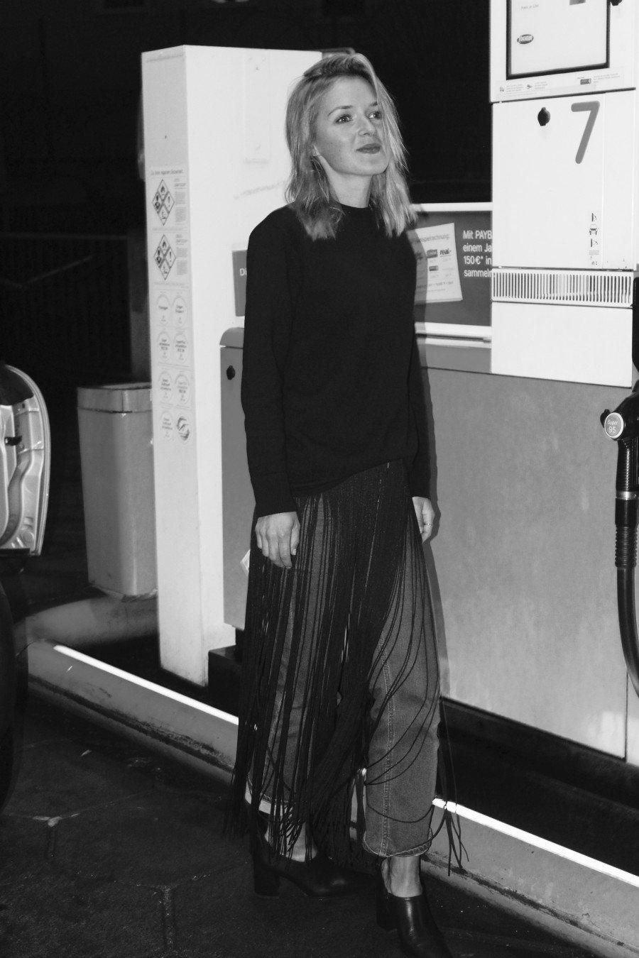Fransen Pullover H&M
