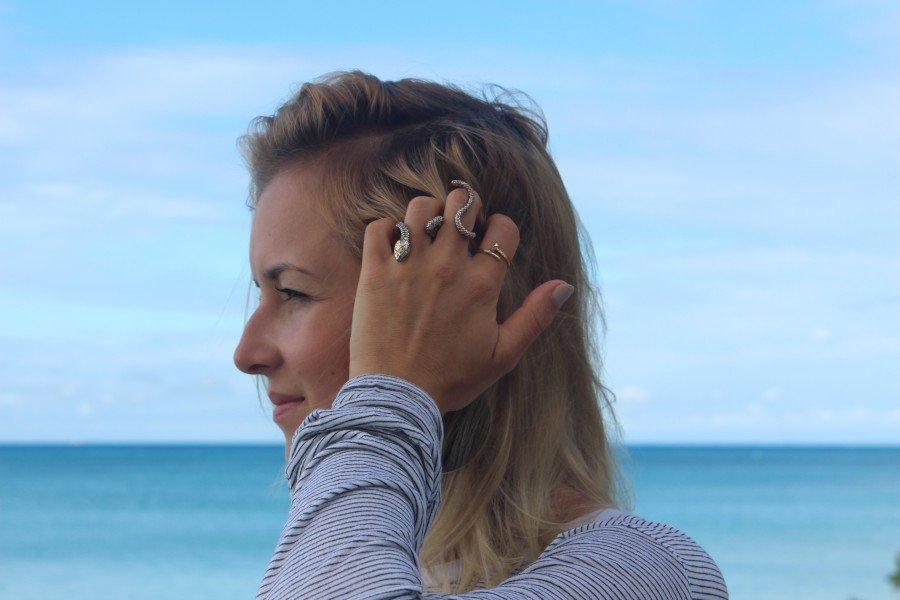 schlangen Ring Blogger