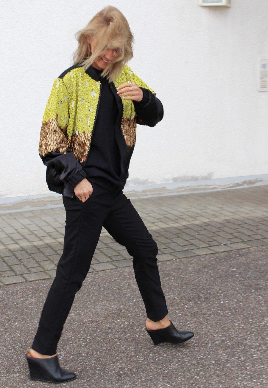 schwarze Hose massimo dutti fashion