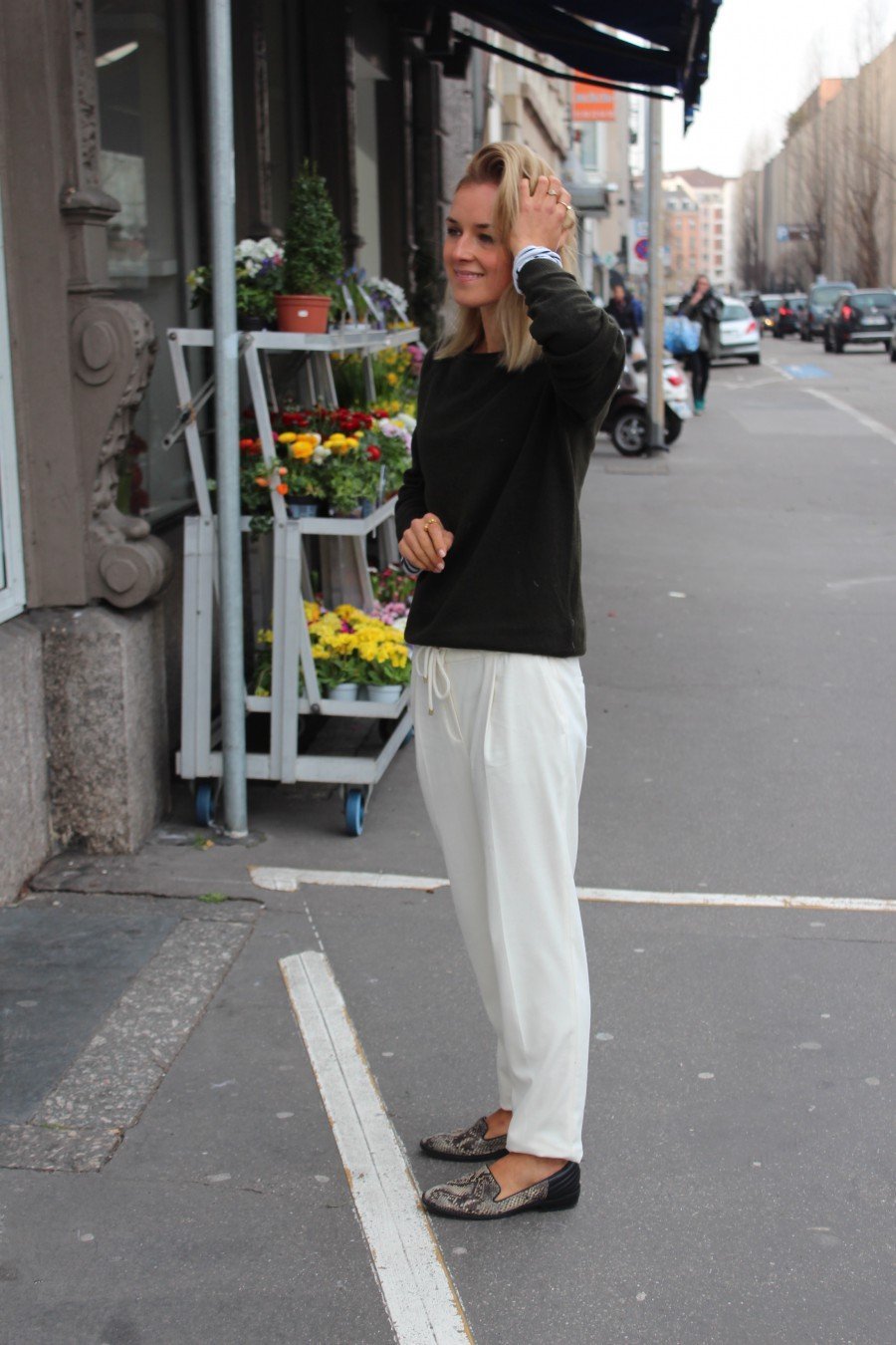 fashion Blogger white look