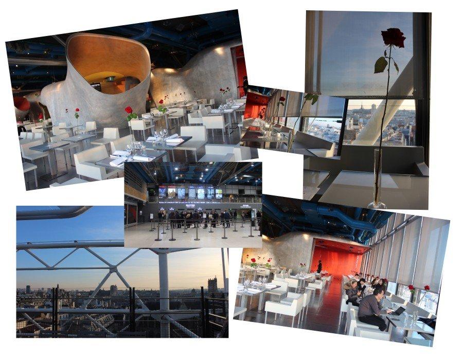Restaurant Georges Pompidou Paris