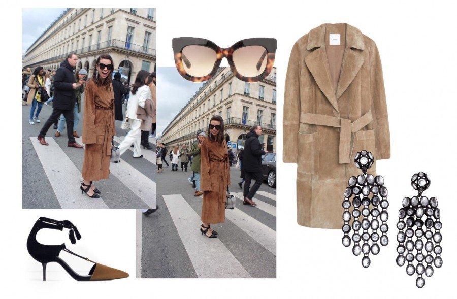 Natascha Goldenberg after Dior Paris Fashion Week 2016