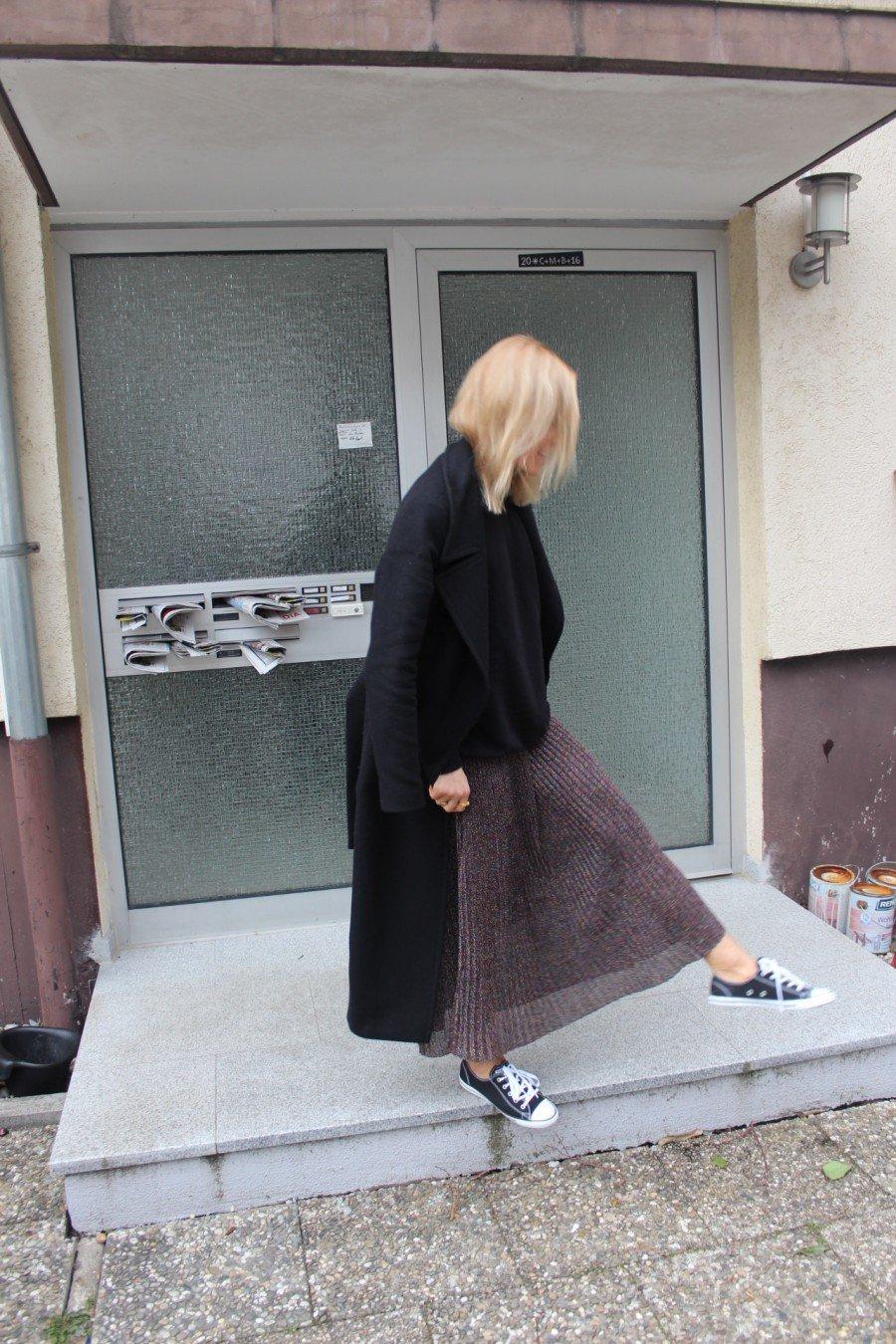 glitter skirt H&M
