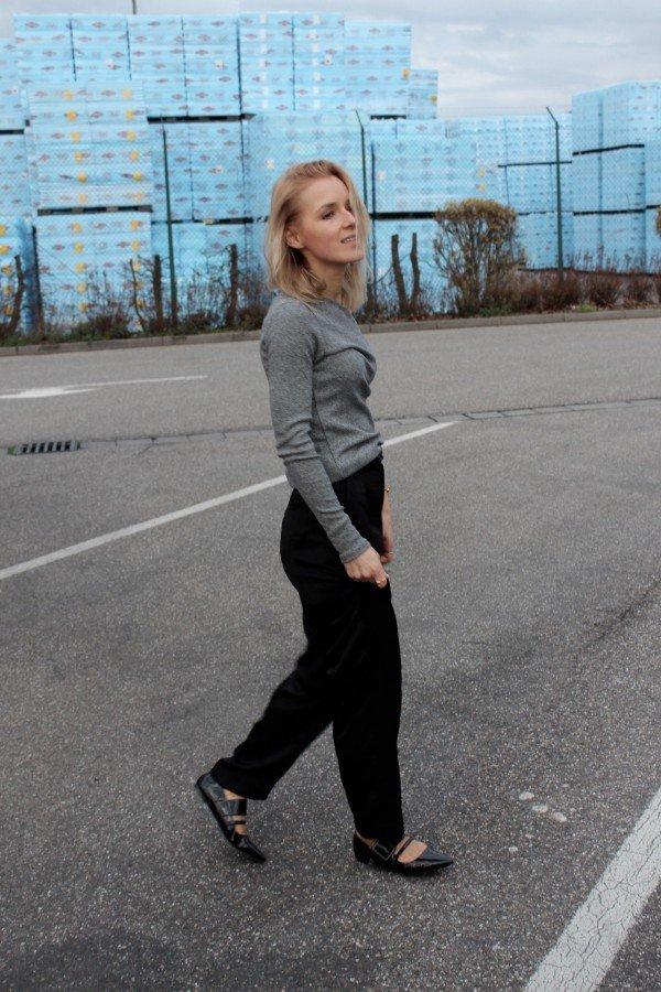 Schulterfreies Oberteil H&M