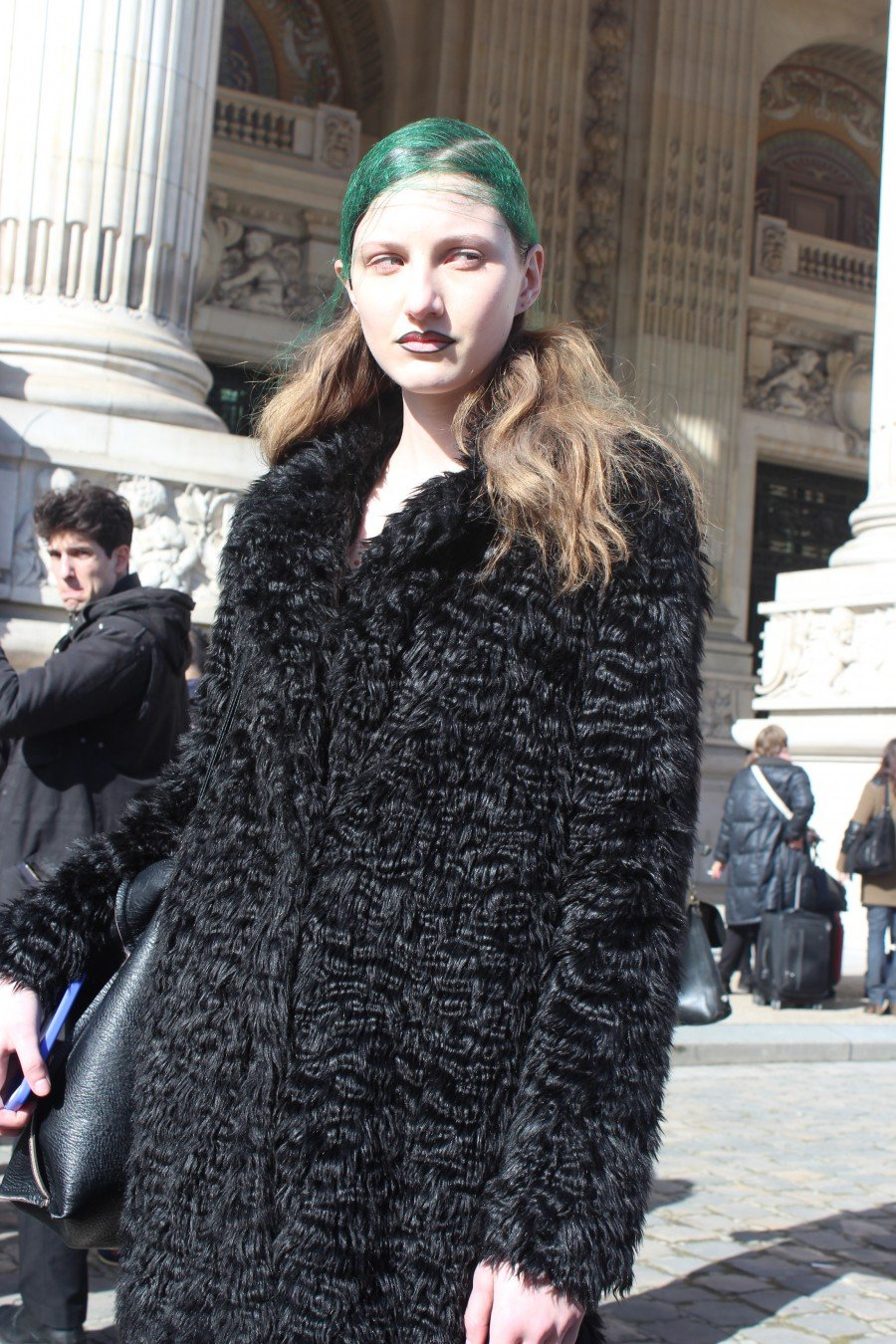 Model after Maison Margiela Paris 2016