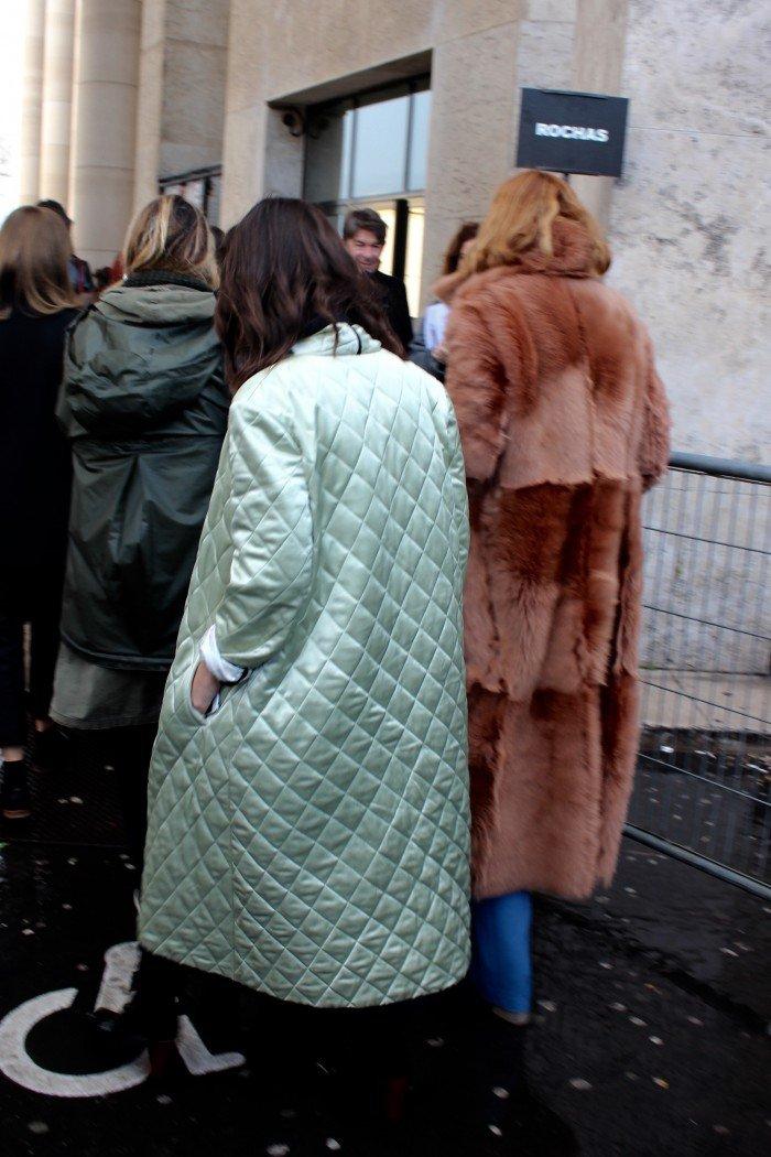 Natascha Goldenberg Streetlook Paris Fashion week 2016