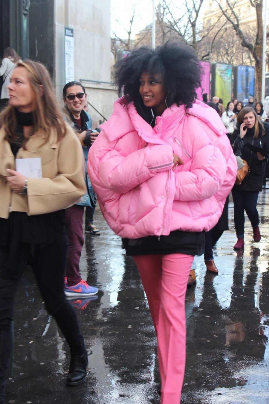 Julia Sarr-Jamouis Streetstyle Paris Fashion Week