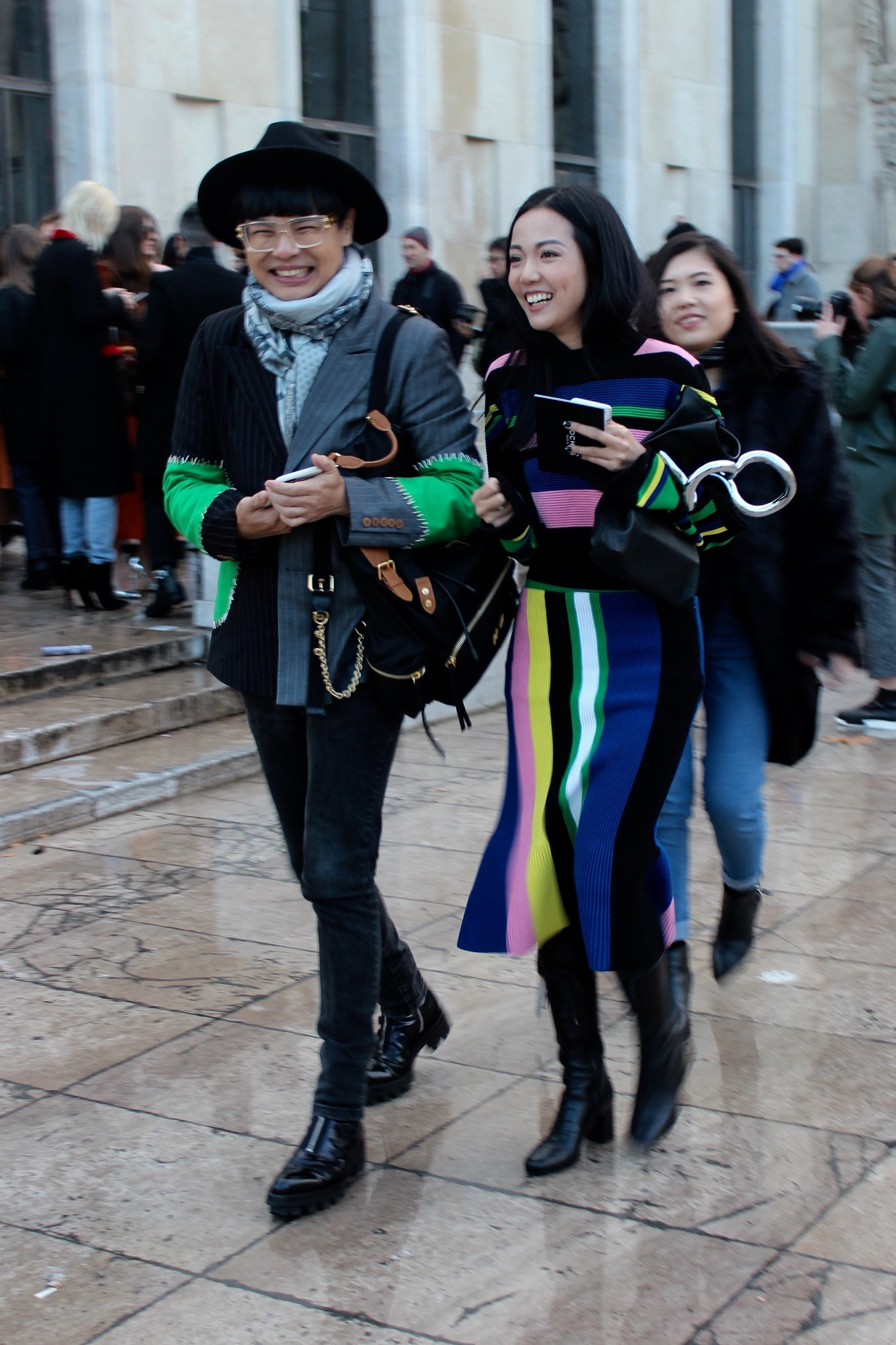 Streetstyle Fashion Week Paris 2016 J.W.Anderson