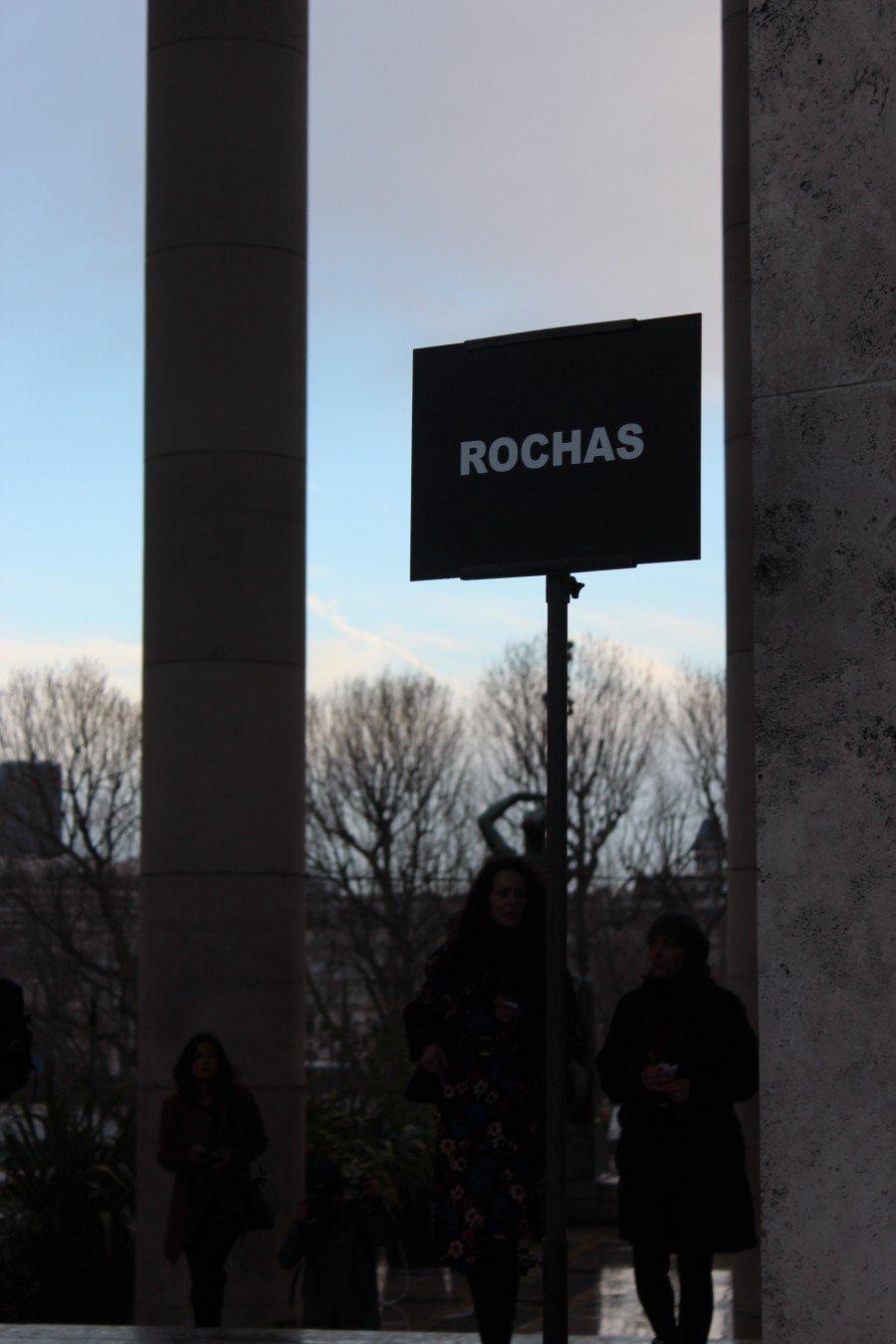 Rochas Paris Fashionshow March 2016