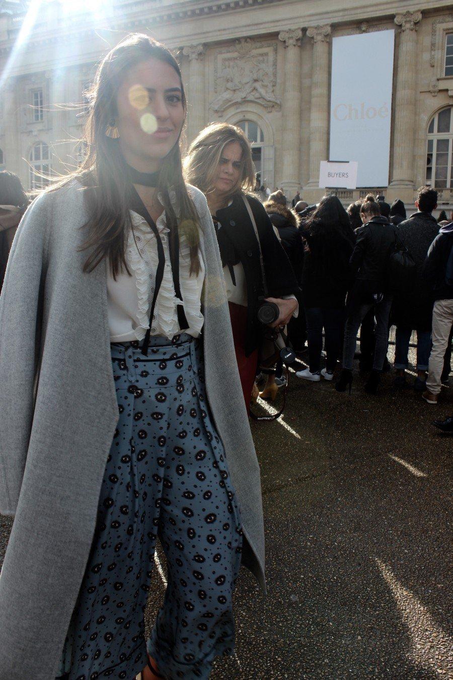 Paris Fashion Week Streetstyle Blogger