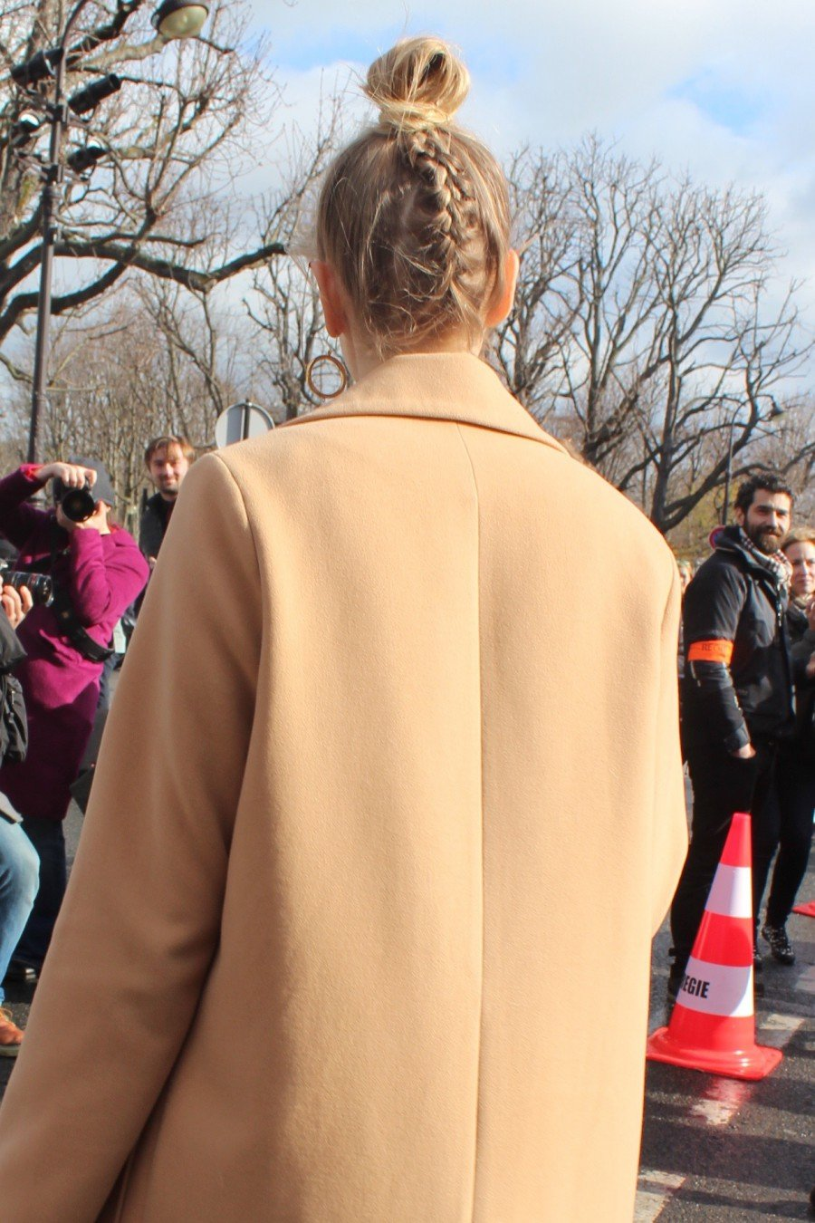 Elena Perminova Paris Fashion Week 2016
