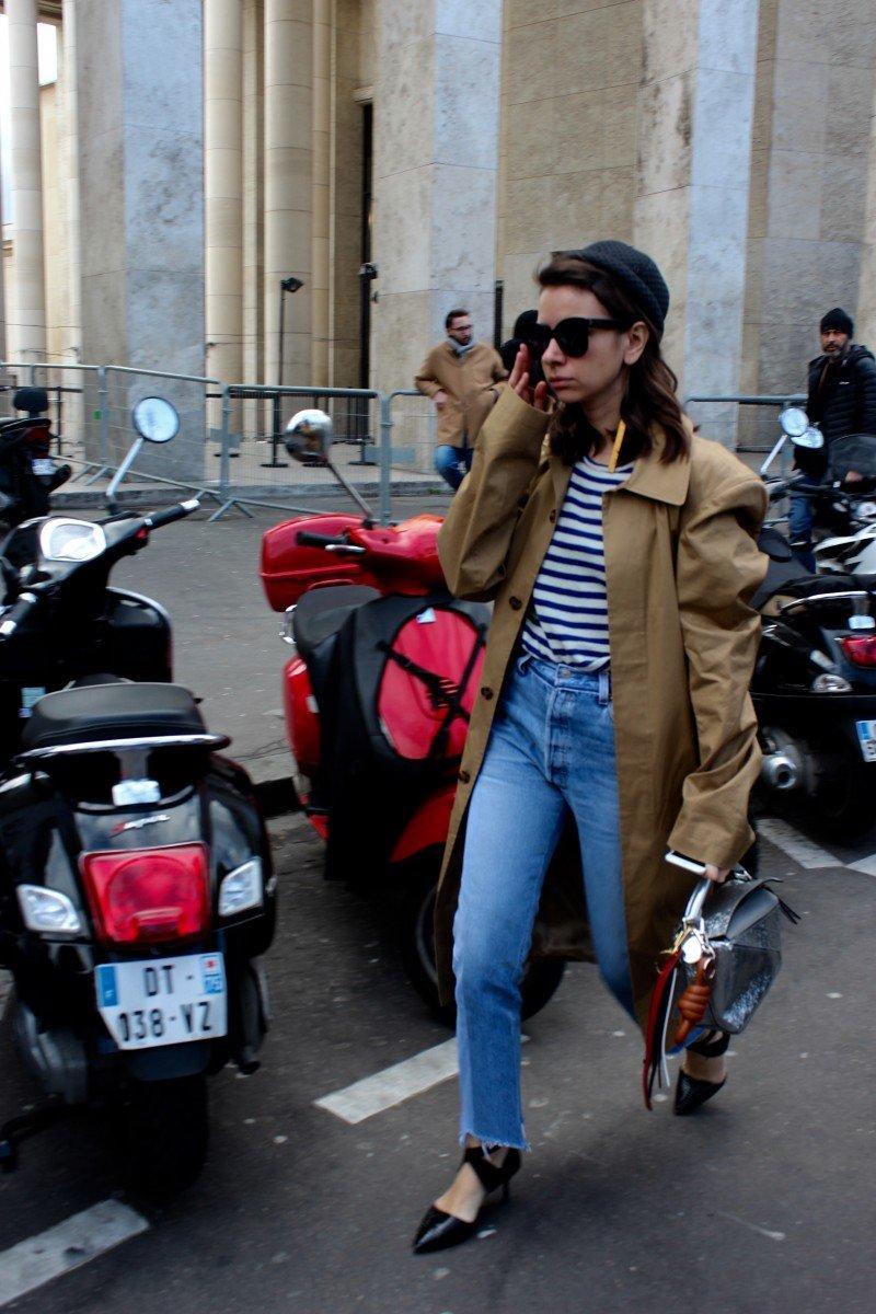 Natascha Gioldenberg Streetstyle Paris
