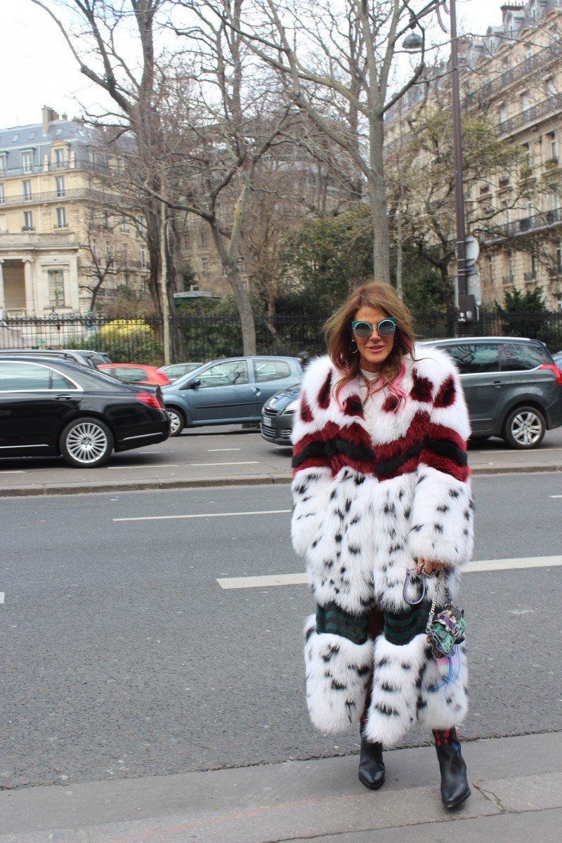 Anna Dello Russo Paris Fashion Week Streetstyle 2016