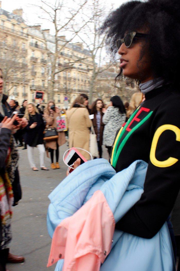 Streetstyle Paris 2016 Julia Sarr-Jamois