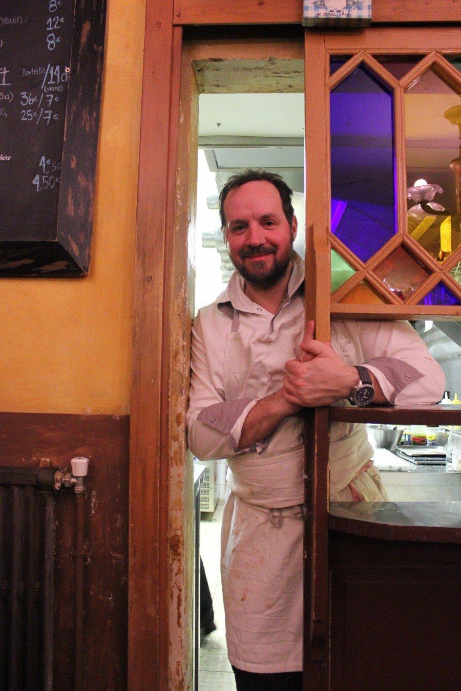 Paris Le Casse Noix chef Pierre Olivier L enormand