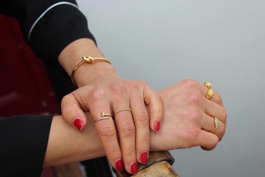 Céline Armband Knoten