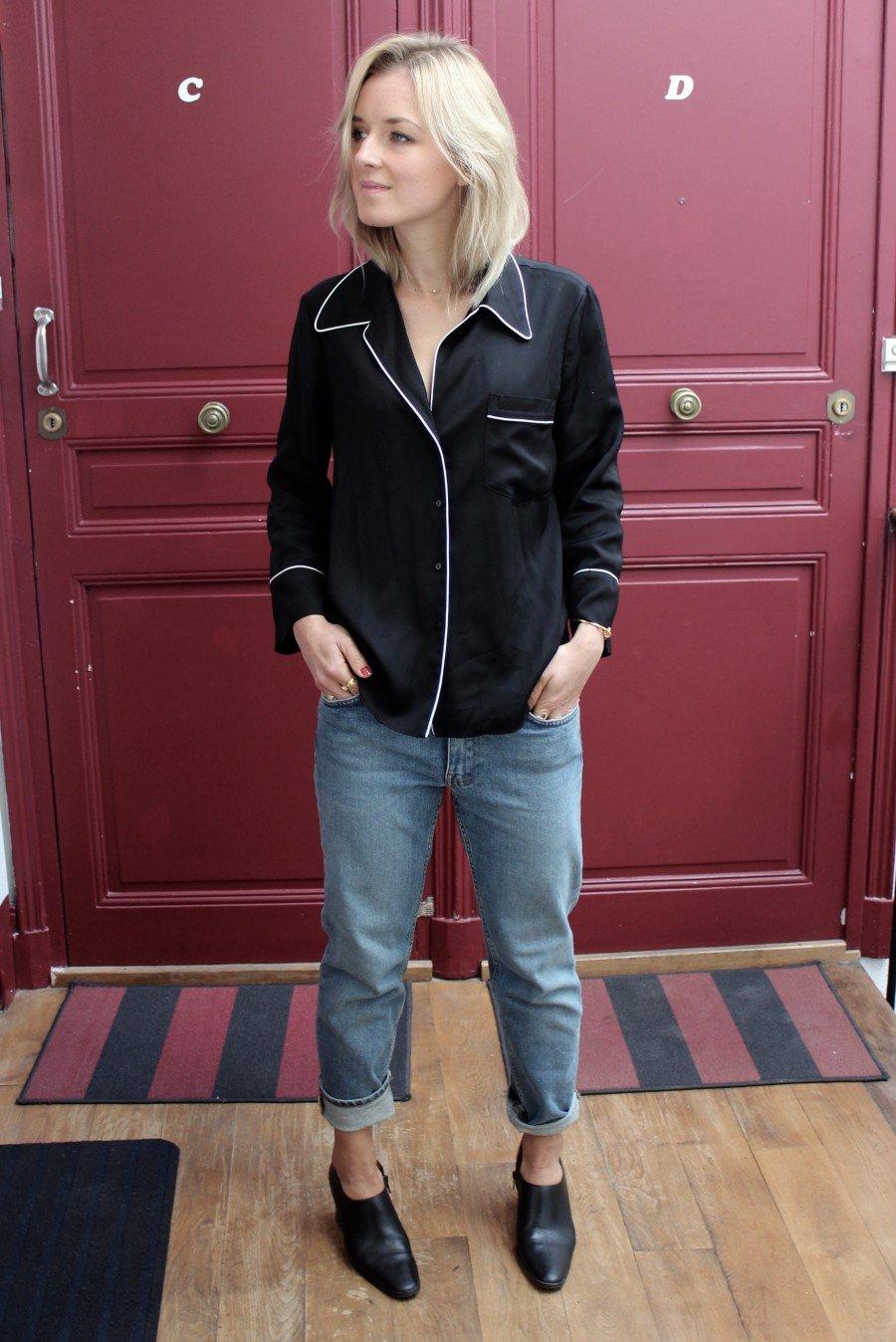 Fashion Blogger Pyjamas Look