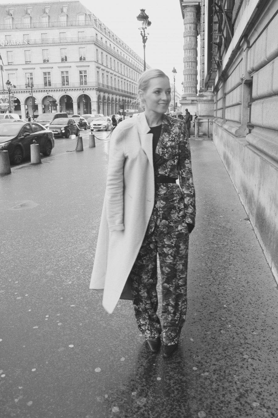 Musteranzug Gucci Zara Paris Fashionweek 2016
