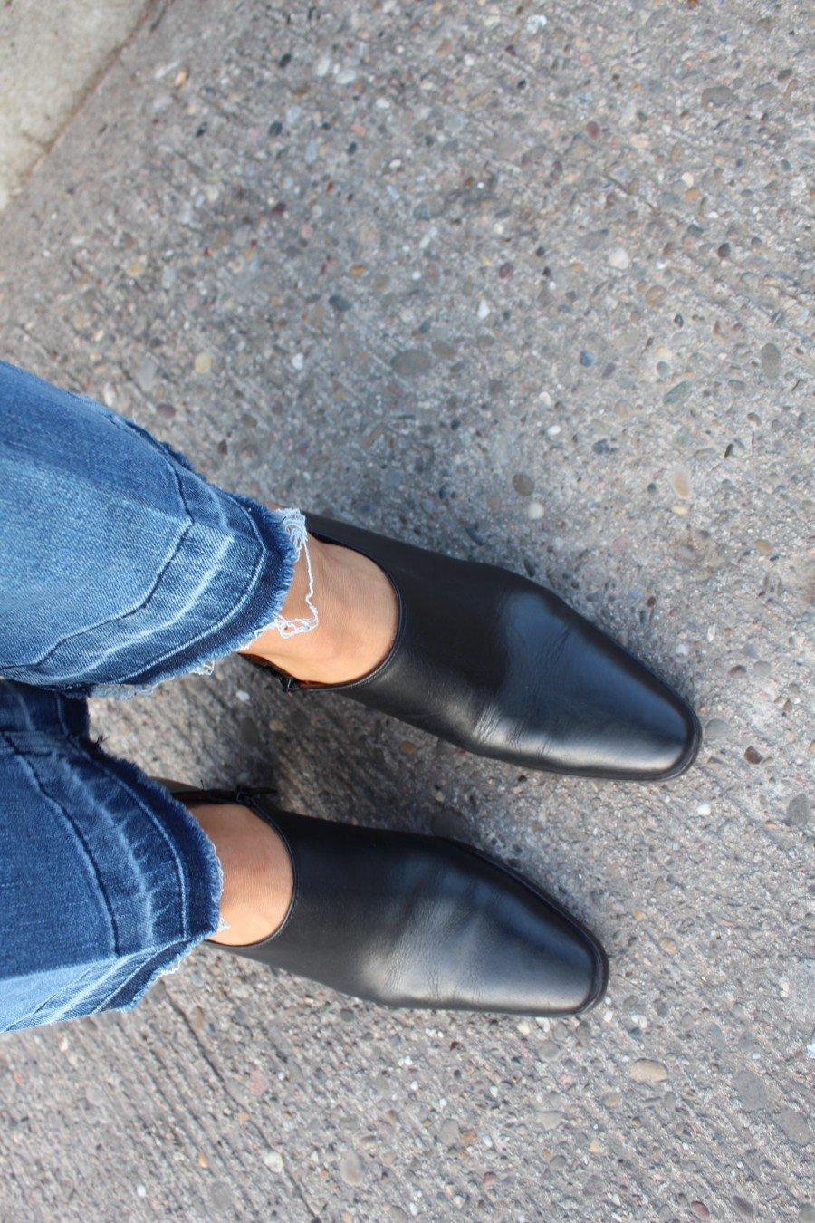 schwarze Booties Zara