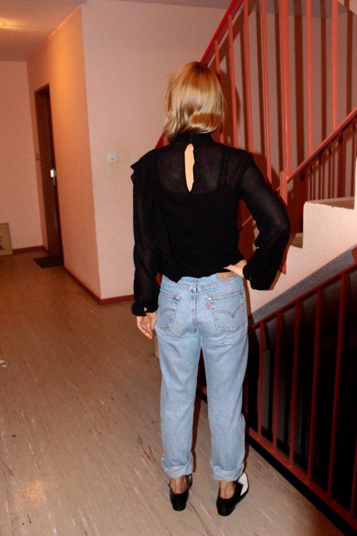 Levis 501 Vintage Jeans