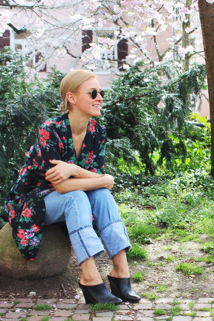 Frühlingskleid Blogger