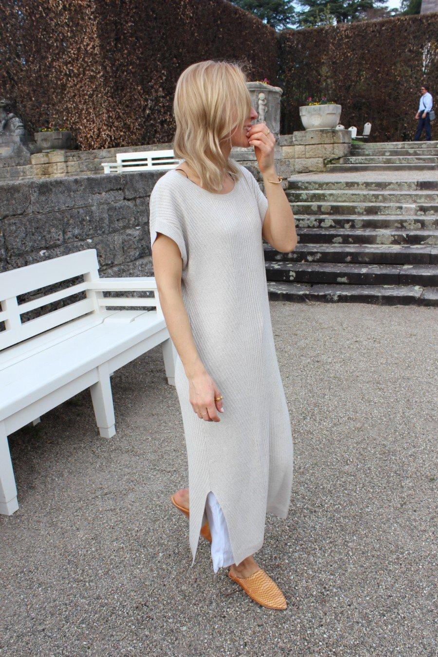 Massimo Dutti Leinen Kleid